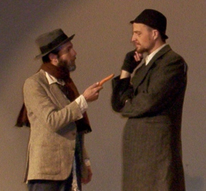 Gogo (Estragon) and Didi (Vladimir)