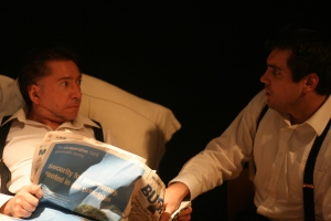 Andrew Jones w/ Matthew Spinney in The Dumb Waiter (2008)