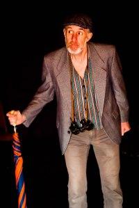 John Ball as 'Prospero' in ROUGHER MAGIC