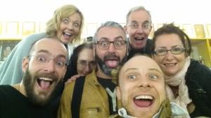 Rougher Magic Cast Selfie