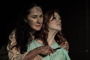 Elizabeth Goodyear as 'Sarah Sprackling' in The Art of Success (w/Josie Blackmore)
