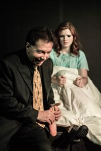 Andrew Jones as 'Robert Walpole' in The Art Of Success (w/Liz Goodyear & Josie Blackmore)