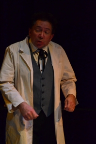 Andrew Jones as 'Doc' in Tooth of Crime (2nd Dance)