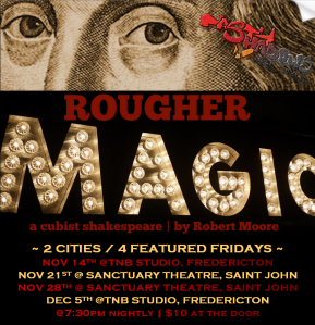 Rougher Magic (alternate 2014 poster)