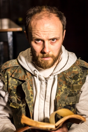 Michael Holmes-Lauder as 'Chael' in A STORY JONES