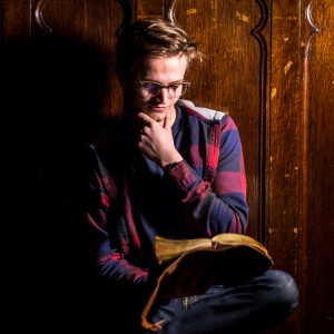 Simon Peterson on set for A STORY JONES