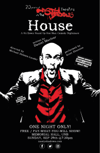 HOUSE @Memorial Hall - One Night ONLY! ~ FREE / Pay-What-You-Will show ~