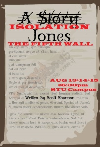 ISOLATION JONES @ THE FIFTH WALL (Aug 2020)