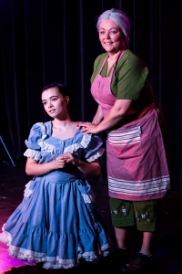 Amanda Thorne as 'Female Actor' & Julie MacDonald as 'Older Female Actor' in THIS IS A PLAY (Fredericton)